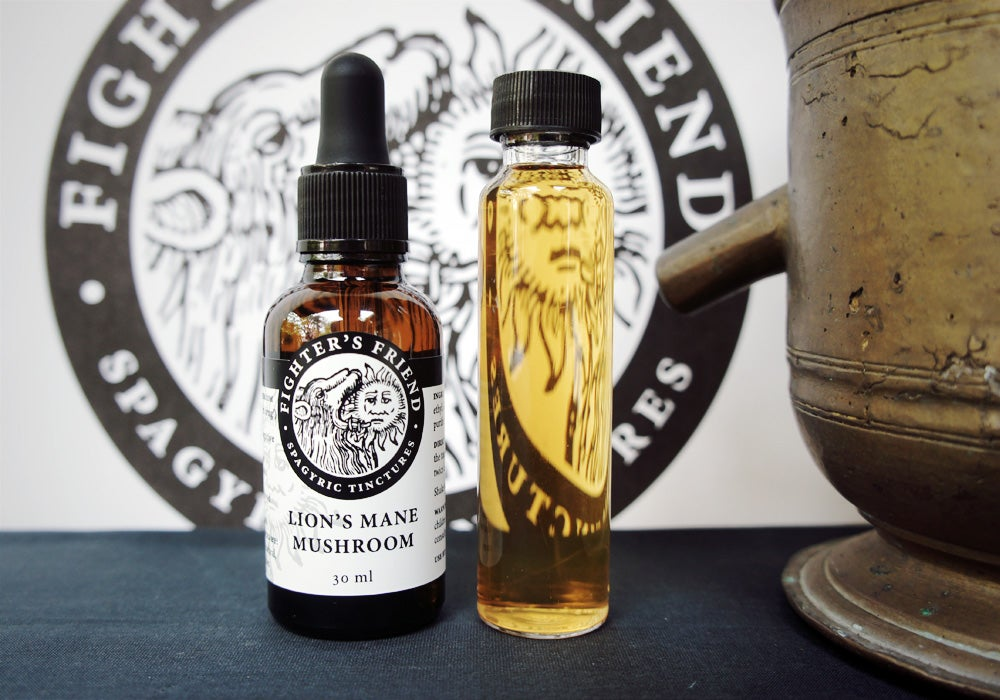 Image of LION'S MANE MUSHROOM - Fighter's Friend spagyric tincture