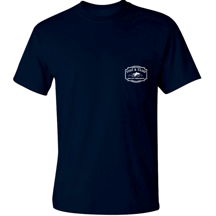 Image of INT'L Pocket Tee (navy)