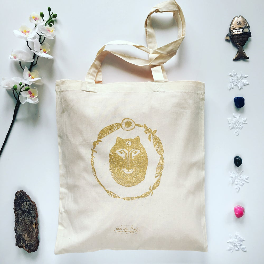 Image of Tote Bag *Wild Wolf*
