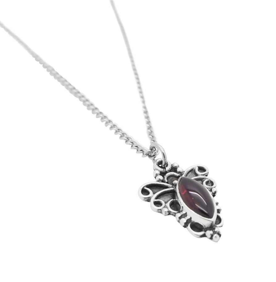 Image of Garnet Alchemy Necklace