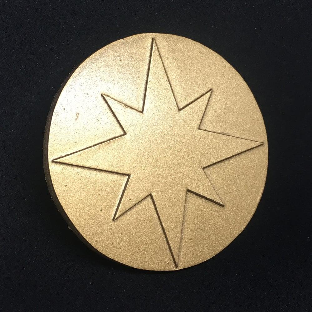 Image of Captain Marvel Sash Crest - MCU