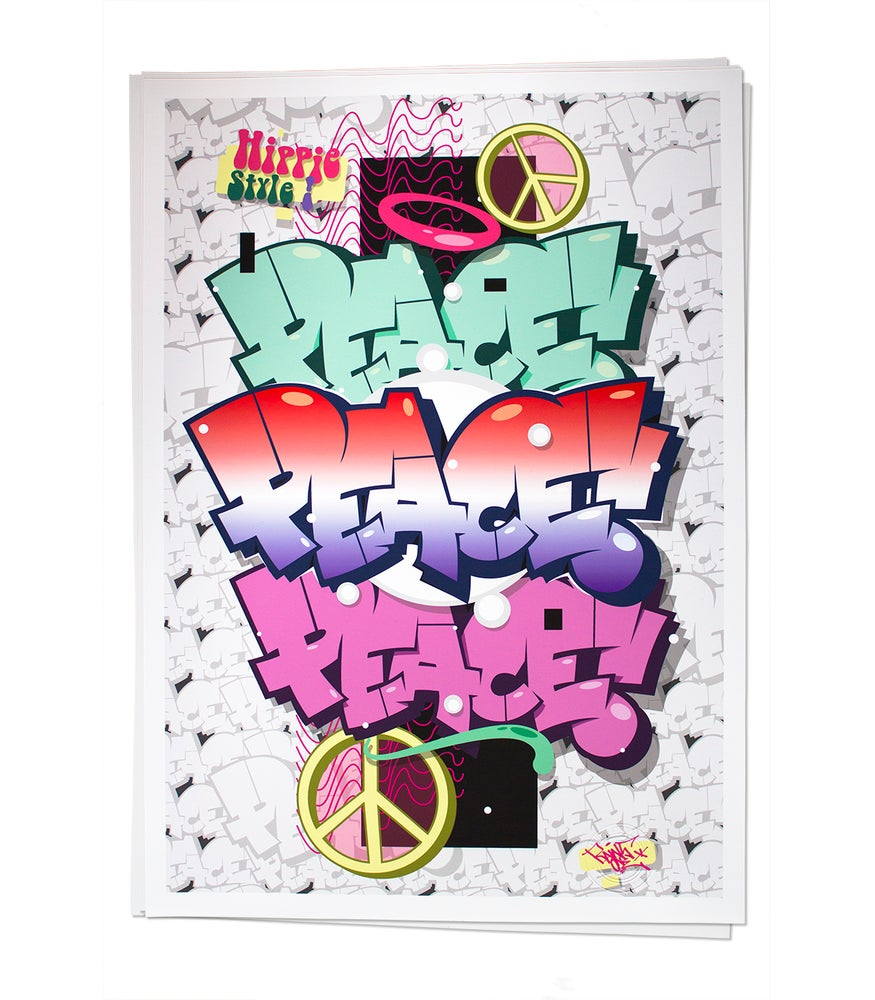 Image of HIPPIE STYLE | limited print by Raws