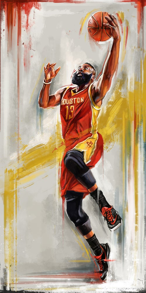 Image of NBA Illustrations