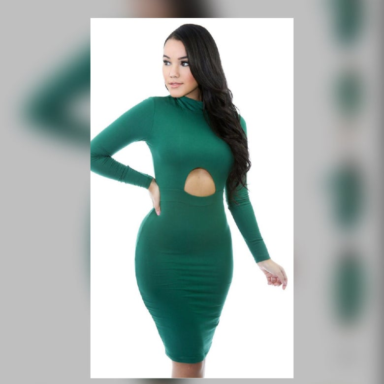 Image of Open up dress
