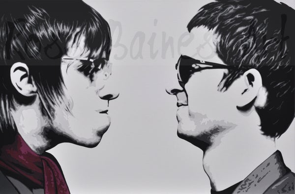 Image of BROTHERLY LOVE Fine art print A1, A2, A3