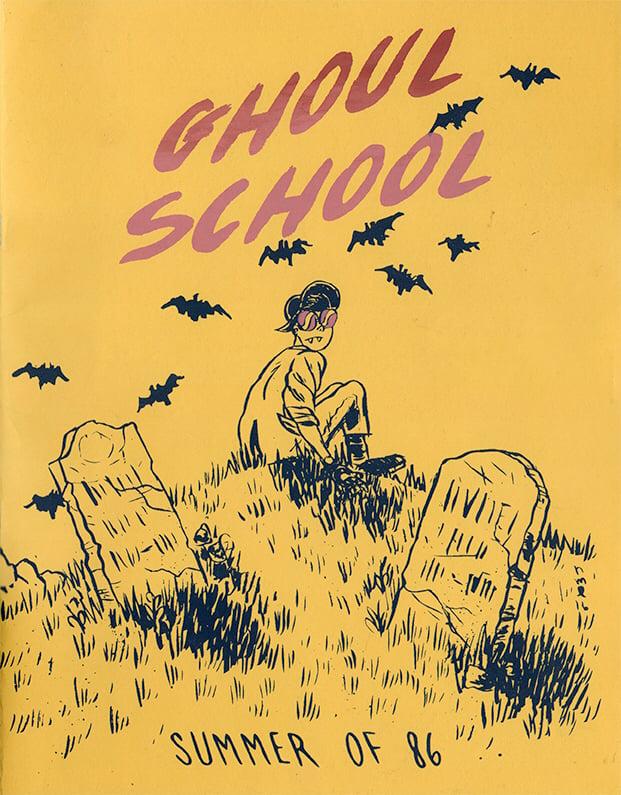 "Image of Ghoul School ""Summer of 86"" Zine"