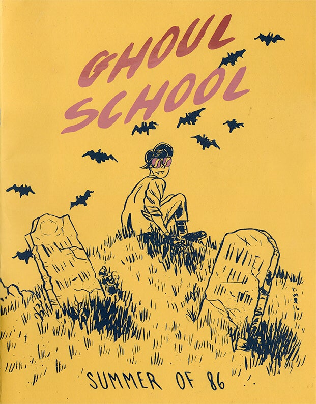 "Image of Ghoul School ""Summer of 86"" Zine"