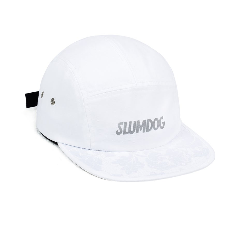 Image of 5PANEL WHITE <br> REFLECTIVE LOGO