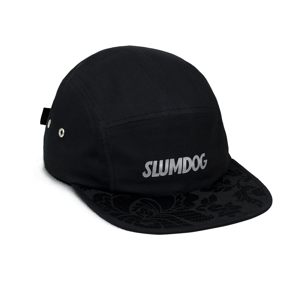 Image of 5PANEL BLACK <br> REFLECTIVE LOGO
