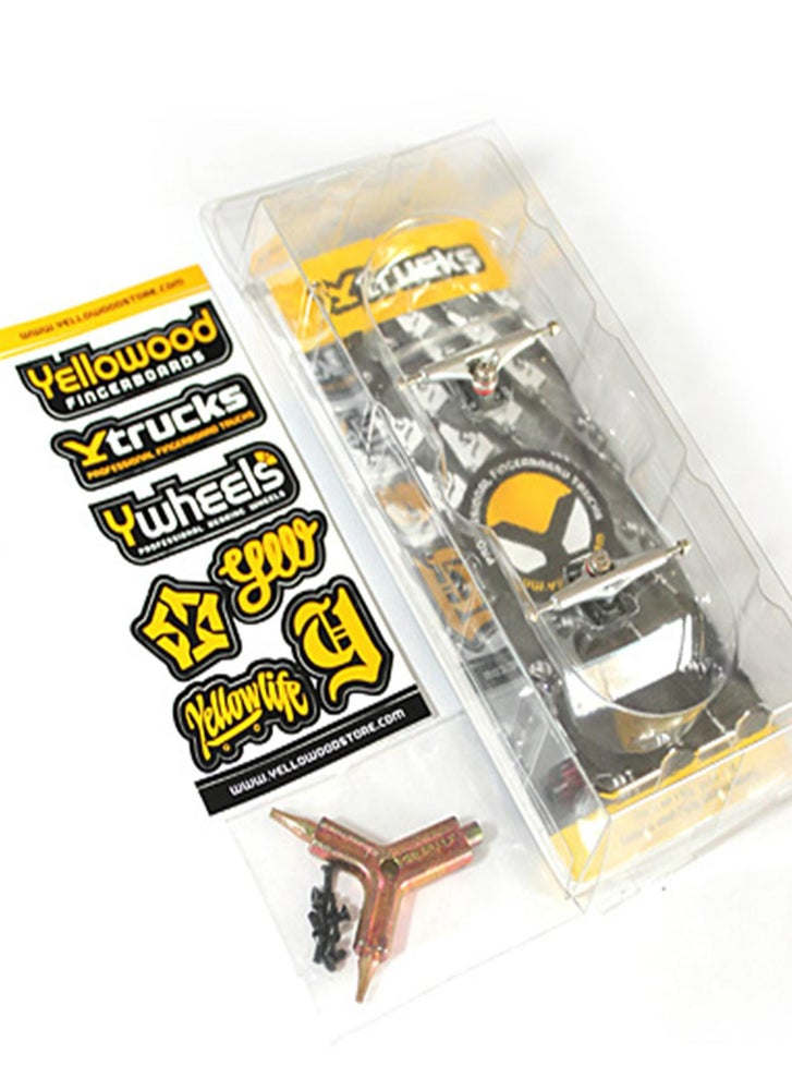 Image of YTrucks X3 30mm Trucks United Black/Chrome