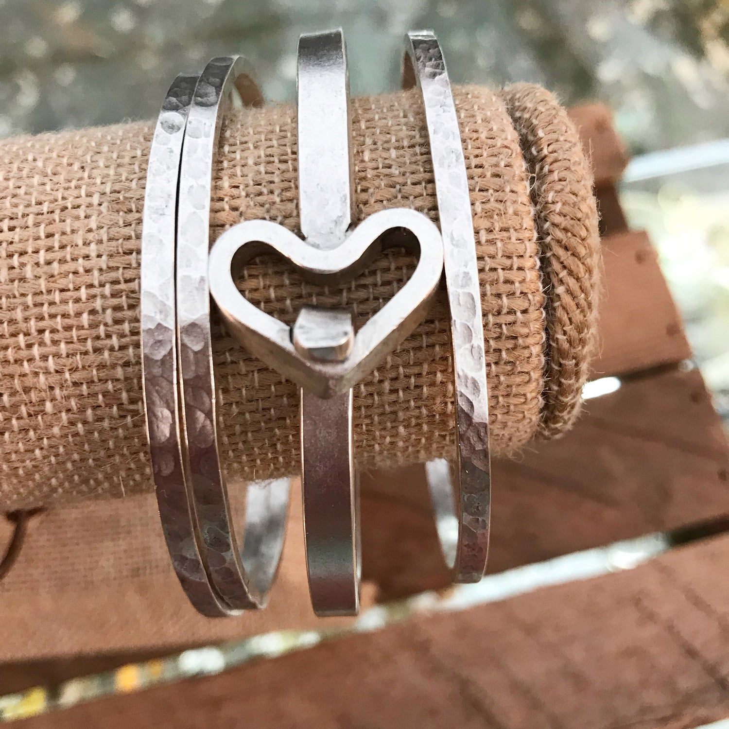 Image of Heartfelt Bangles