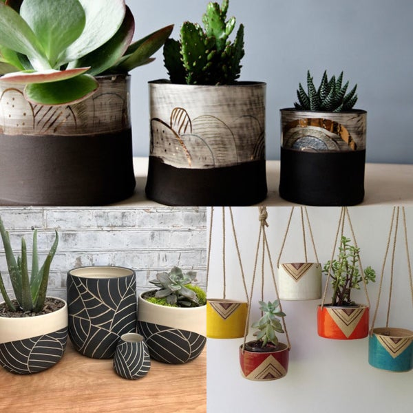 Image of Ceramic Planters (One Day Workshop)