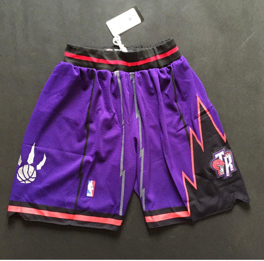 "size 40 ab6a1 cca84 Toronto raptors ""swingman shorts"""