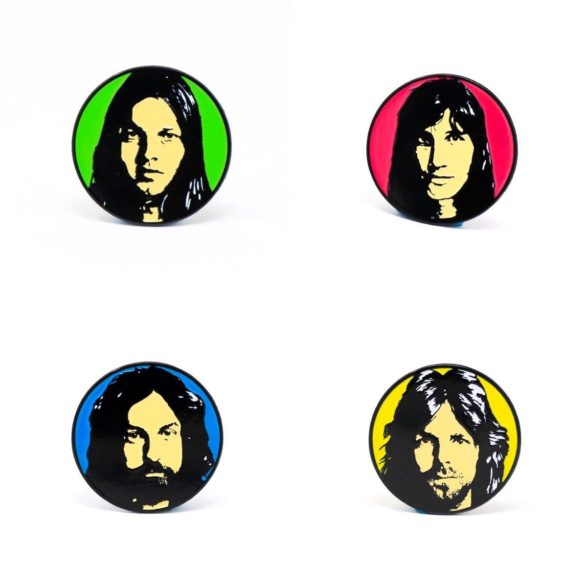 Image of Pink Floyd 'Echoes' Enamel Pin Set