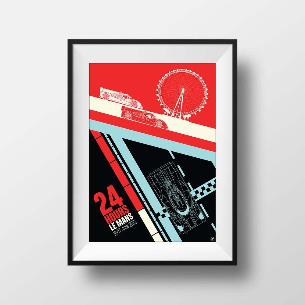 Image of 24 Hours of Le Mans Print