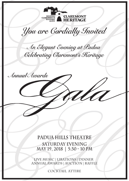 Image of 2018 Annual Awards Gala Saturday May 19th