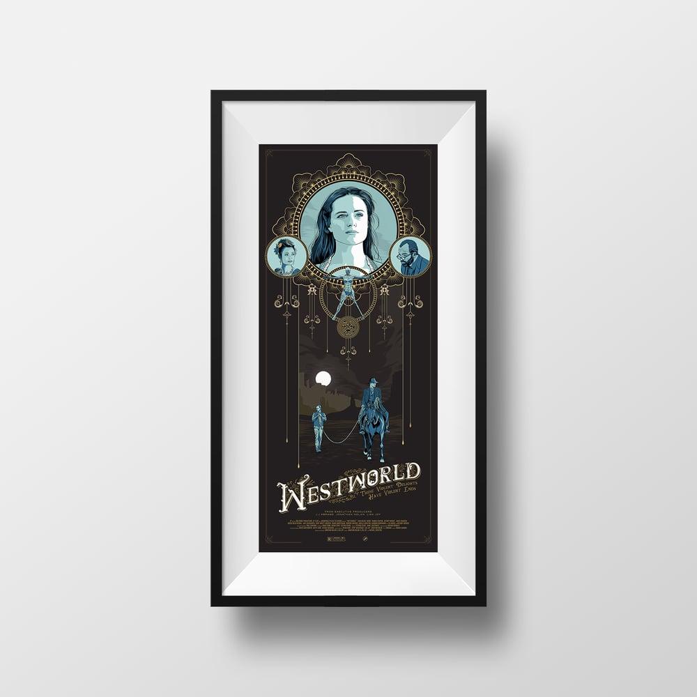 Image of Westworld Print
