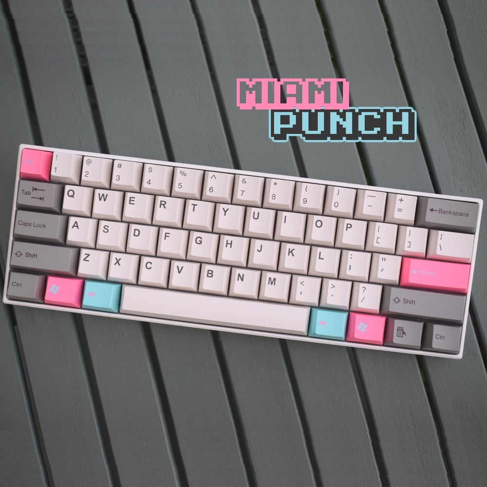 Image of Tai Hao Miami Punch Cubic Keycaps