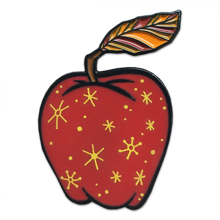 Image of Fantastic Apple - Lapel Pin