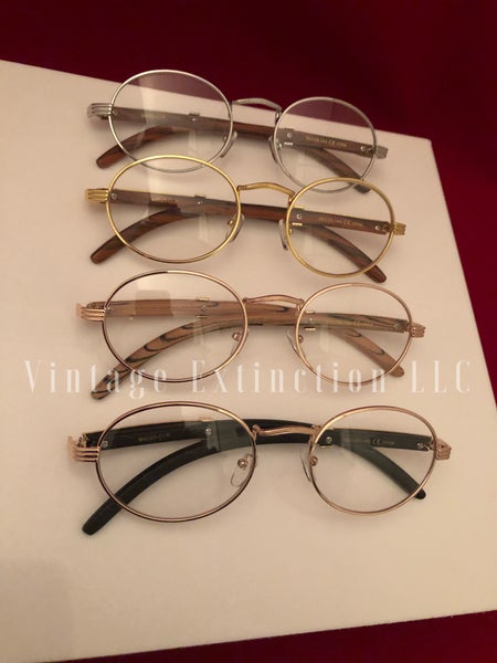 Image of Wood Grain Premium Unisex Frames