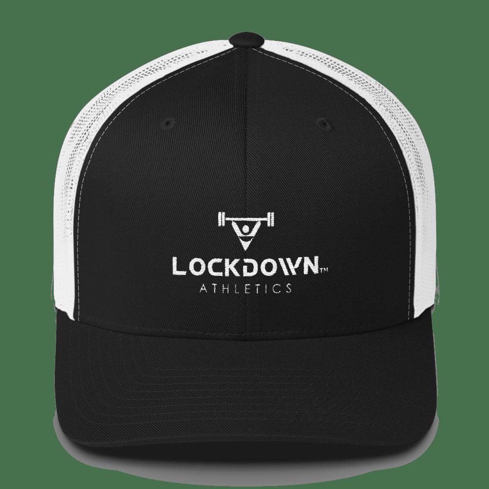 Image of Power Series Black & White Trucker Cap