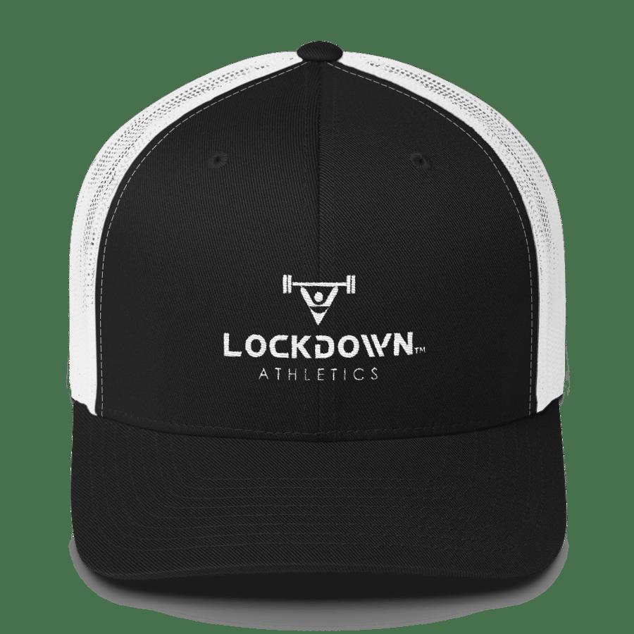 Image of Black & White Trucker Cap