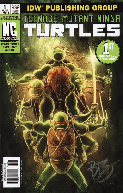 Image of TMNT LIMITED EDITION VARIANT COVER