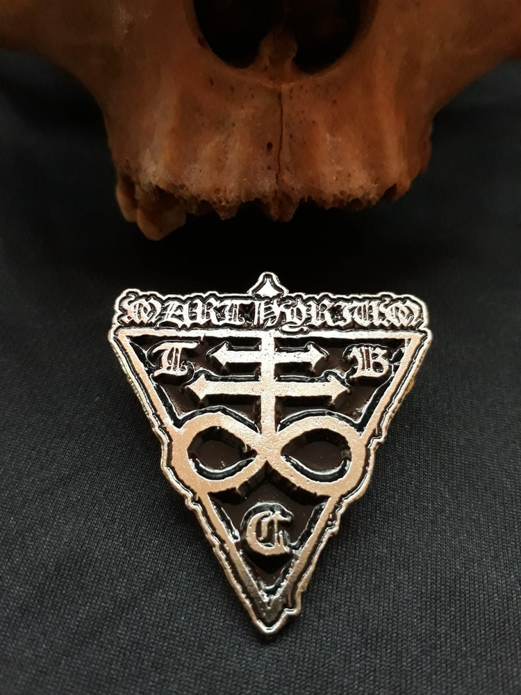 Image of Marthyrium Sigil Metal Pin