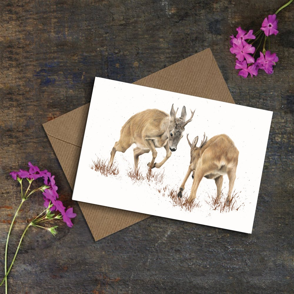 Image of 'Roe Rut' Greeting Card