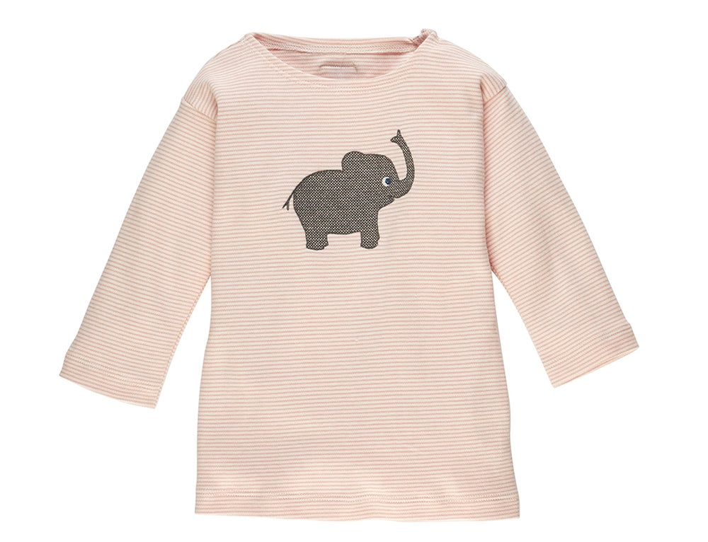 Image of Baby T-Shirt mit Elefant rosa Art.207216