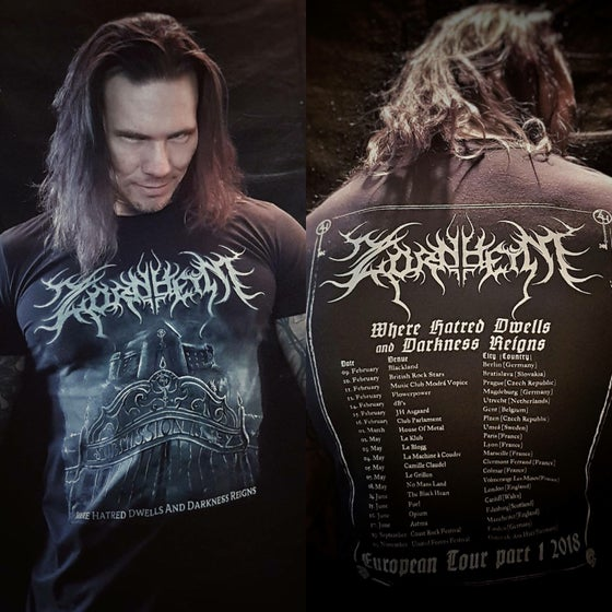 Image of Zornheym- Eu tour shirt