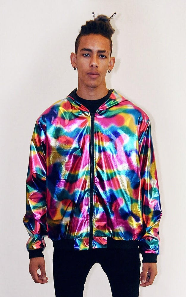 Image of MULTI COLOR METALLIC JACKET