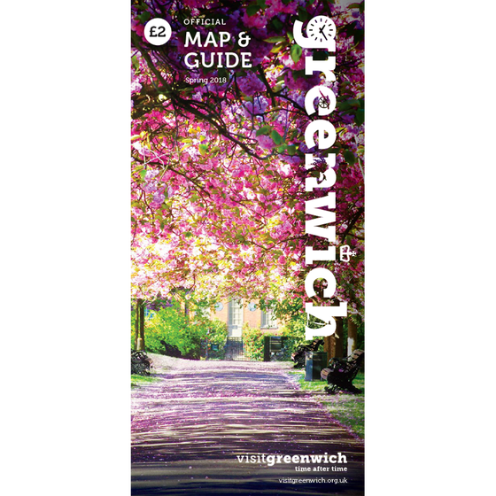 Image of Greenwich Map & Guide: April - June 2018