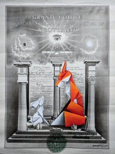 Image of 'The First Degree' original painting