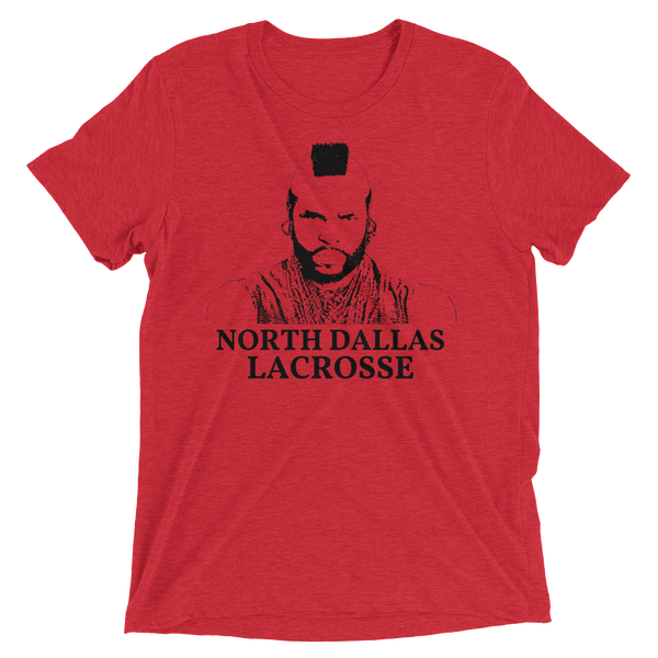 Image of Mr T North Dallas Tri Blend T-Shirt
