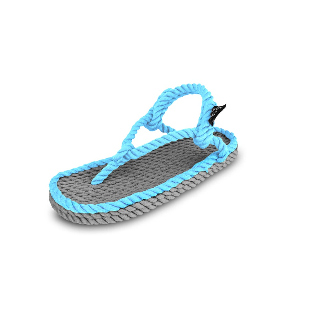Image of Flop grey neon Blue