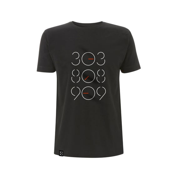Image of Bedrock 303:808:909 Tweaked T-Shirt Black