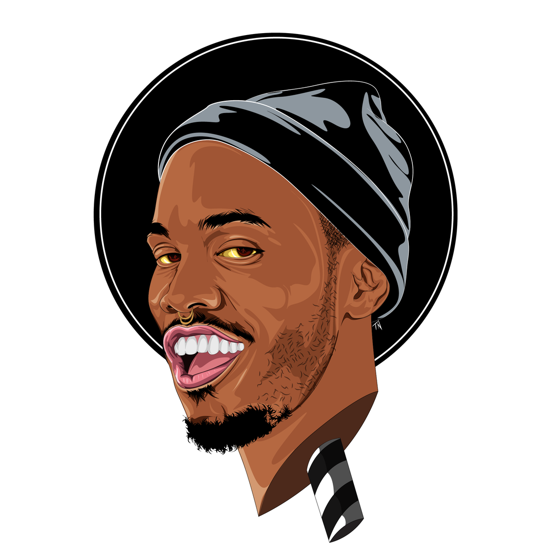 Image of Anderson .Paak Print