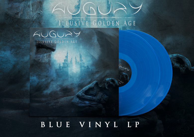 Image of AUGURY - Illusive Golden Age - BLUE DOUBLE LP