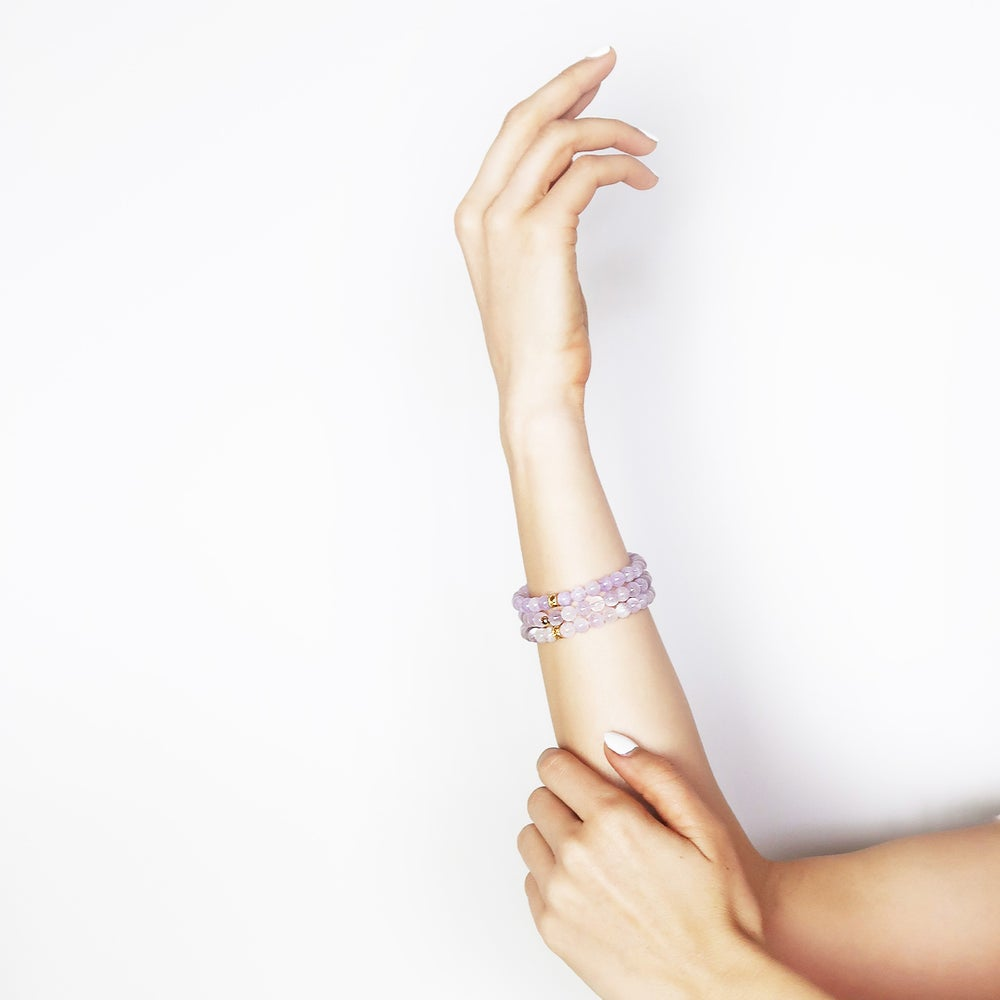 Image of Lavender Stretch Bracelet(s)