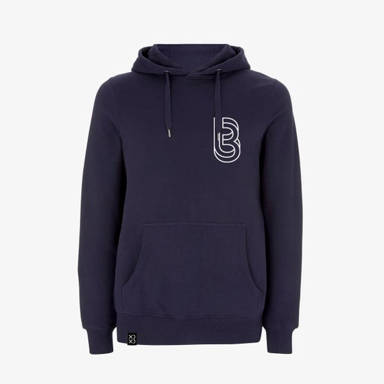 Image of Bedrock ClassiXX Series Restructured Pullover Hoody Navy