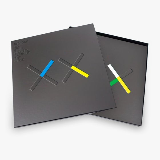 Image of Bedrock XX Deluxe Limited Edition Signed 4 CD Box Set & T-shirt