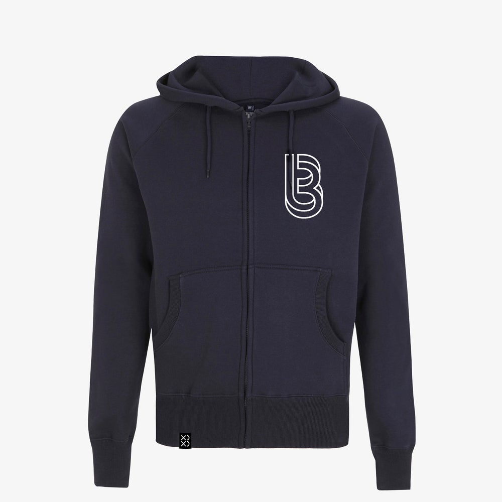 Image of Bedrock ClassiXX Series Restructured Zip Hoody Navy