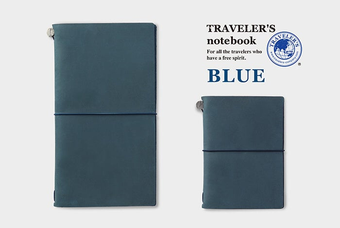 Image of TRAVELER'S Company Blue Passport Traveler's Notebook
