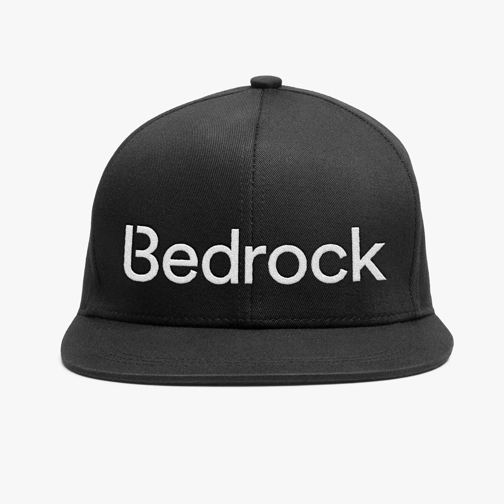 Image of Bedrock 98 Snapback Hat in Black