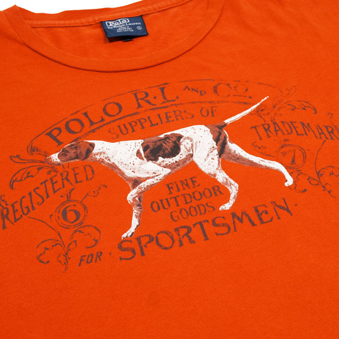 Image of Polo Ralph Lauren Sportsmen Vintage Long Sleeve T Shirt Size XL
