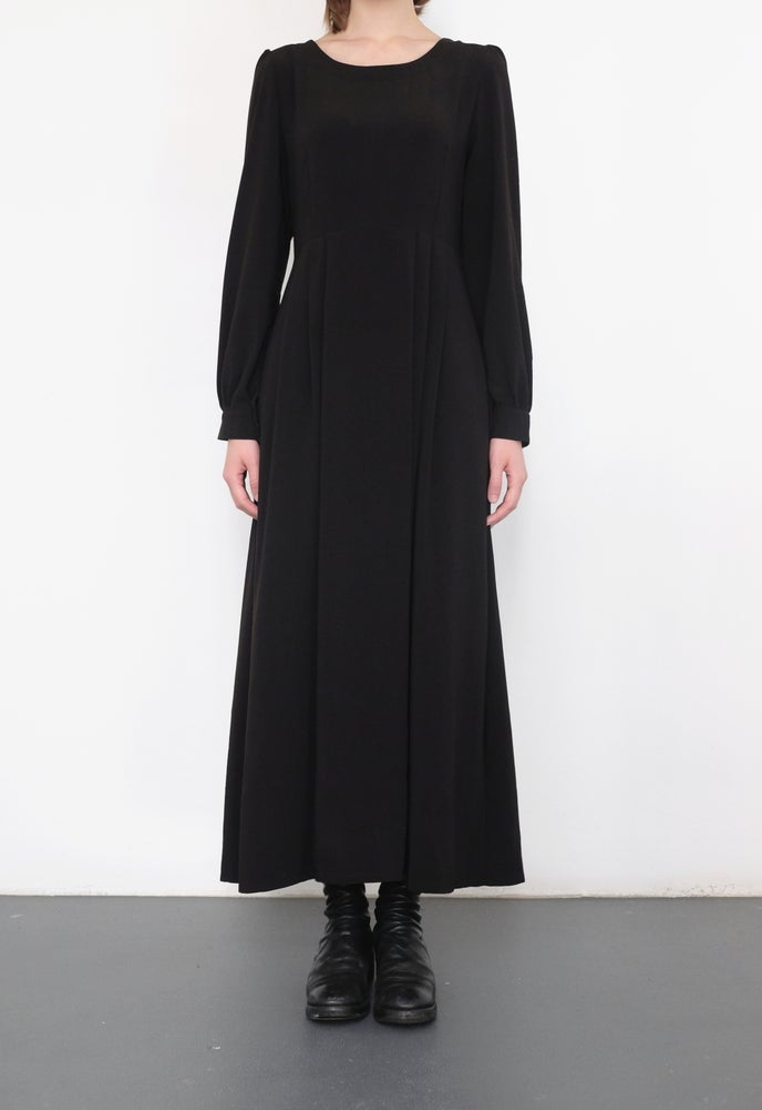 Image of SS1803 - Long Black Dress