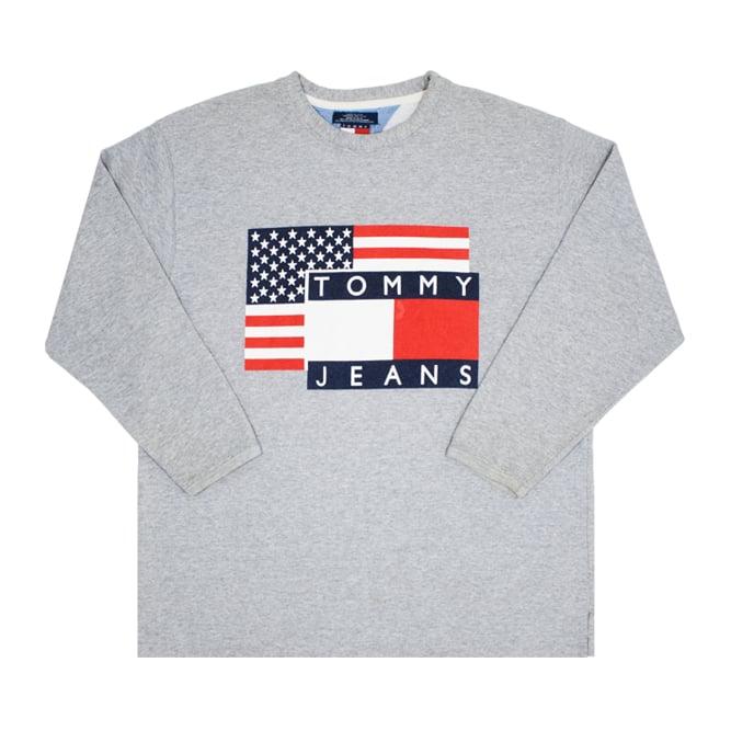 Image of Tommy Jeans Hilfiger Vintage Sweatshirt Size M