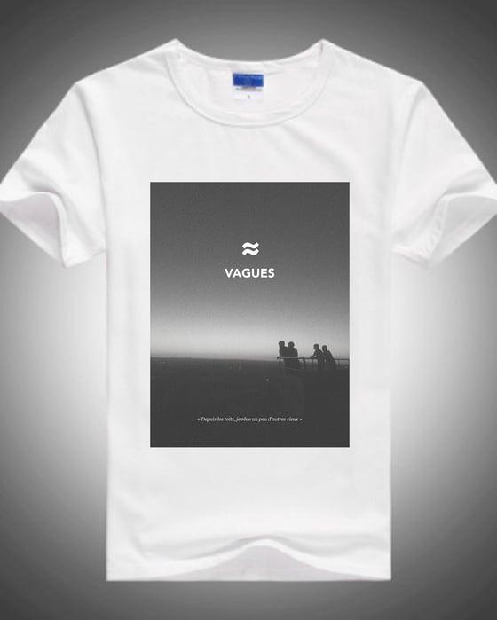 Image of T-shirt Blanc Coton Bio