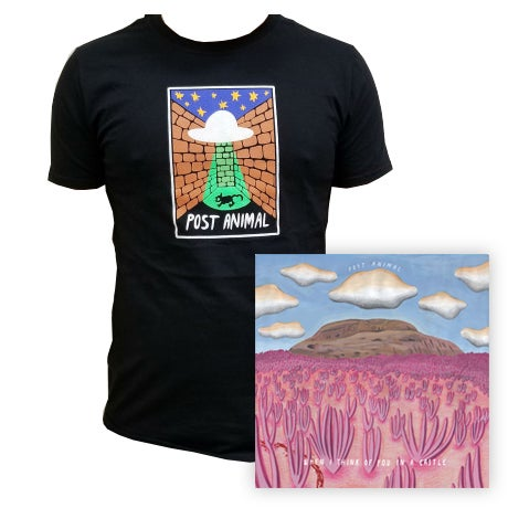 Image of When I Think Of You In A Castle LP + Do You Believe In Life On Other Planets T-Shirt